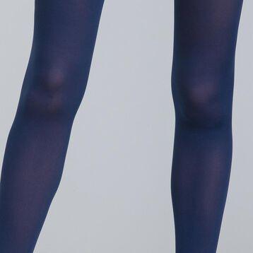 Collant ultra opaque bleu marin 60D Body Touch-DIM