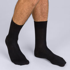 Lote de 2 calcetines negros X-Temp para hombre, , DIM