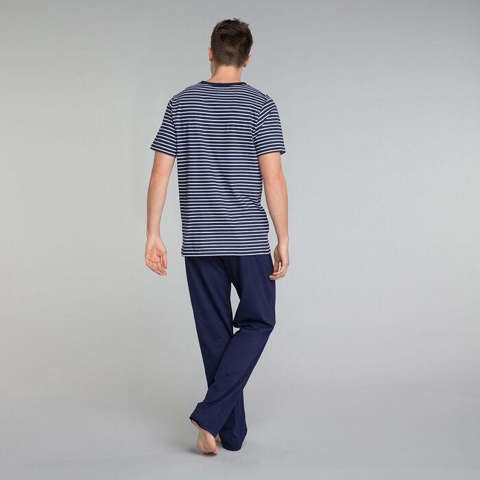 Pantalón de pijama azul marino - Fashion Navy, , DIM