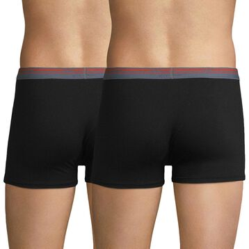 Lot de 2 boxers noirs Daily Colors-DIM