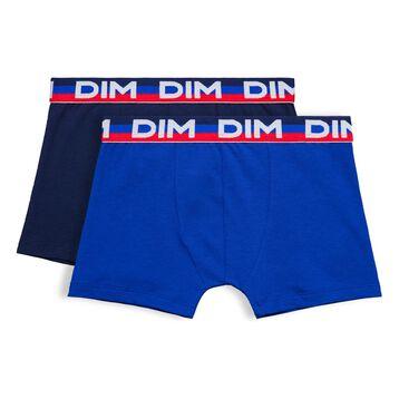 Lot de 2 boxers bleu matelot Eco DIM Boy-DIM