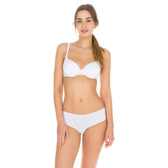 Sujetador blanco ampliforme Invisi Fit, , DIM