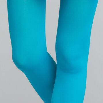 Panti opaco aterciopelado azul turquesa - 50D style, , DIM