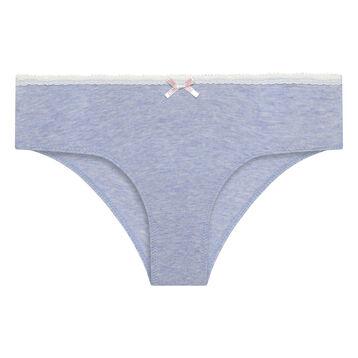 Braguita para niña azul de algodón elástico Dim Trendy, , DIM