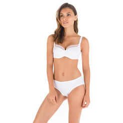 Sujetador balconet blanco Body Touch, , DIM