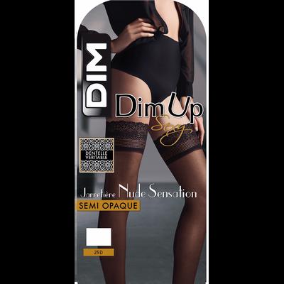 DIM Up noir Nude Sensation Semi-Opaque 25D-DIM
