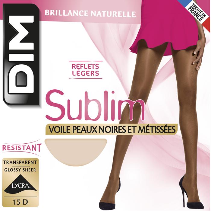 Collant cannelle Sublim peaux noires et métisses 15D-DIM