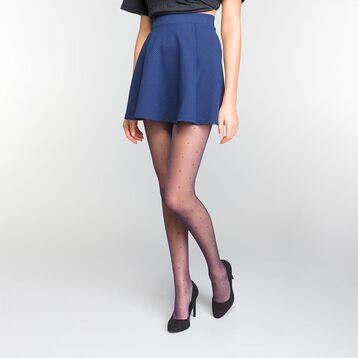 Panti efecto plumetis azul marino 15D - Dim Style, , DIM