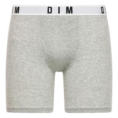 Bóxer largo gris de algodón y modal - DIM Originals, , DIM