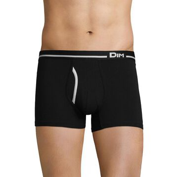 Boxer Australien noir en coton stretch-DIM