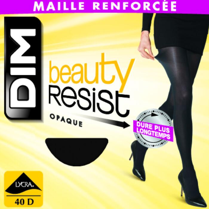 Panti Beauty Resist negro opaco 40D, , DIM