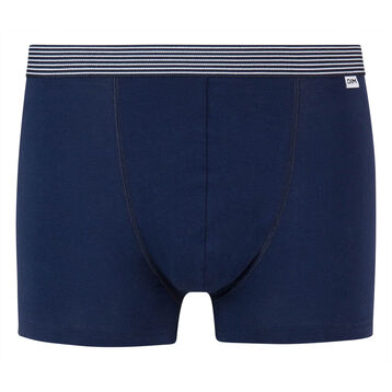 Bóxer azul de algodón elástico con cintura estampada de Mix and Print, , DIM