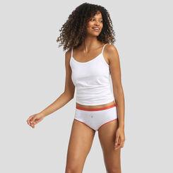 Pack de 3 culottes estampados de algodón Costa Azul Les Pockets Coton Stretch de Dim, , DIM