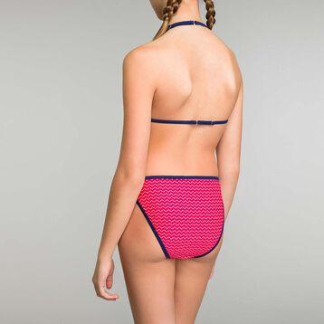 Bikini de niña rosa estampado - Aloha, , DIM