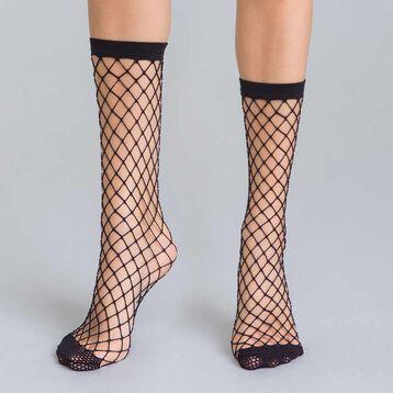 Socquettes résille filet noir 54D Style-DIM