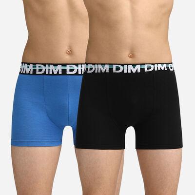 Calzoncillos negros y azules para niños Dim Boy, , DIM