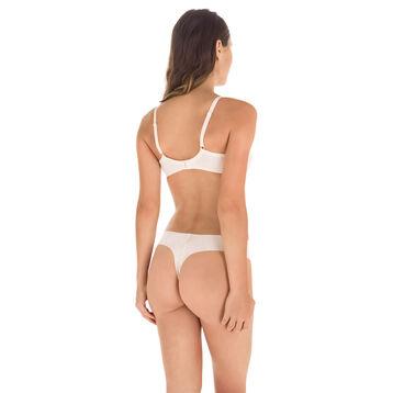 Soutien-gorge rose ballerine à armatures Nude Support-DIM