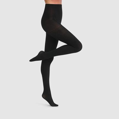 Pantis chevrón negros Dim Style 70D, , DIM