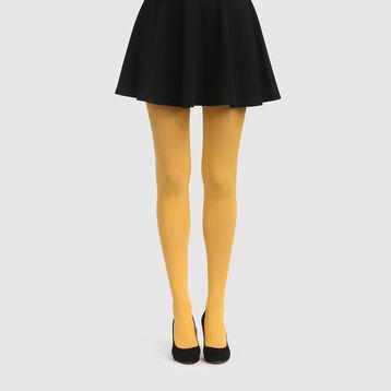 Panty amarillo mostaza aterciopelado opaco Style de Dim 50D, , DIM