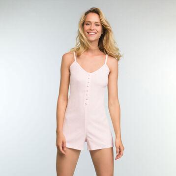 Mono de algodón elástico rosa claro Casual Line, , DIM