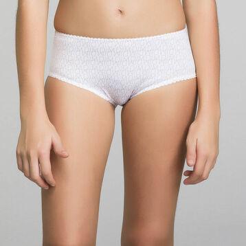 Culotte de niña blanco estampado - Dim Touch, , DIM
