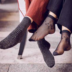 Socquettes résille Stars DIM & BASH-DIM