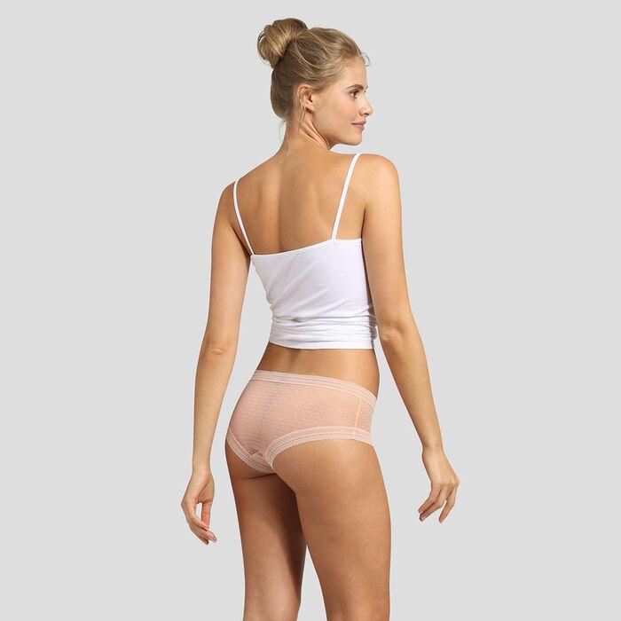 Pack de 2 culottes skin rose Sexy Transparency de Dim, , DIM