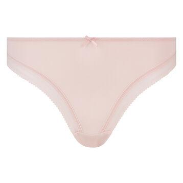 Tanga de microfibra rosa Bar à Culottes Dim, , DIM