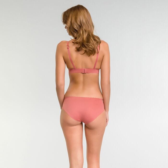 Braguita sin costuras invisibilidad total rosa - Body Touch, , DIM