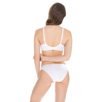 Slip blanc EcoDIM Confort en coton-DIM
