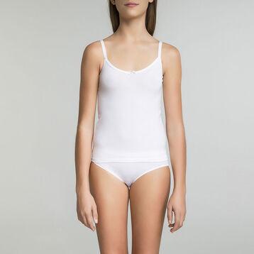 Caraco blanc en coton  DIM Girl-DIM