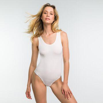 Body blanco de algodón - DIM Originals, , DIM