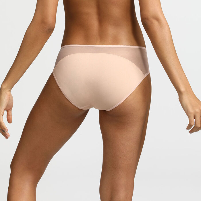 Braguita de microfibra nude con purpurina Generous Limited Edition Dim, , DIM