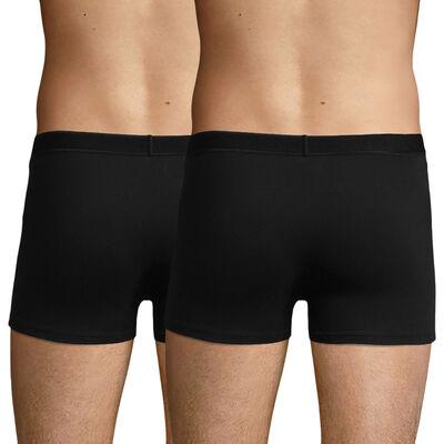 Pack de 2 bóxers negro de algodón elástico Soft para hombre Soft Power , , DIM