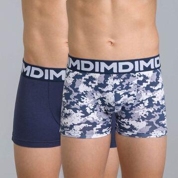 Lot de 2 boxers bleu nuit DIM Boy-DIM