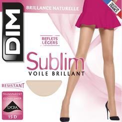Collant noir Sublim Voile Brillant 15D-DIM