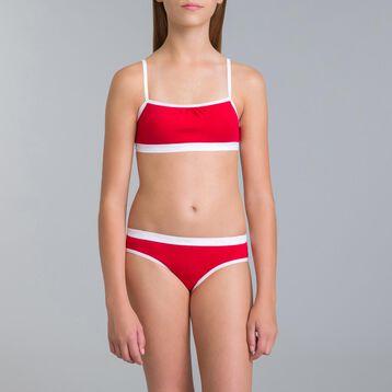 Lot de 3 culottes Pocket SKETCH rubis DIM Girl-DIM