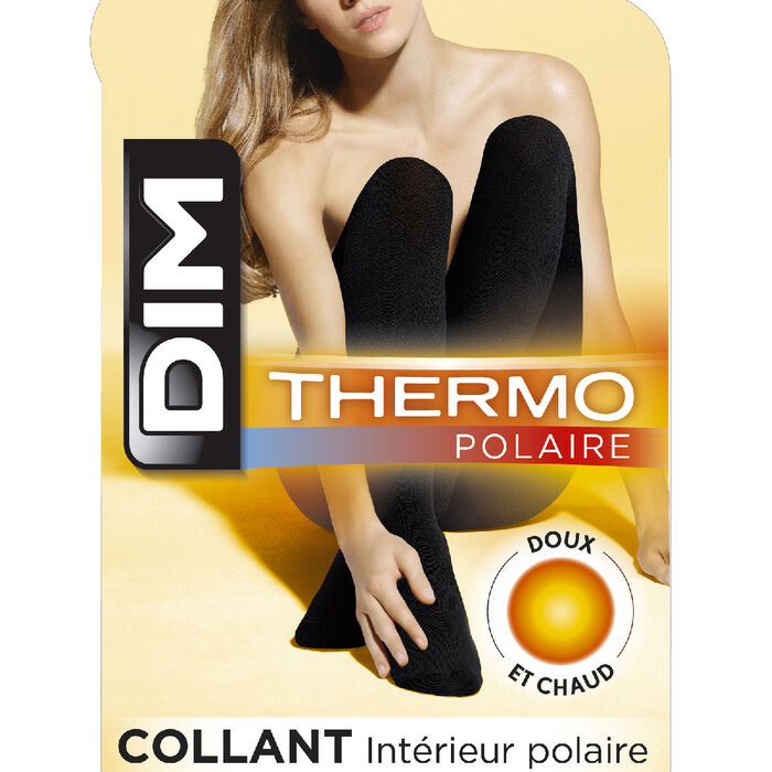 Panti térmico negro Thermo Polaire 143D, , DIM