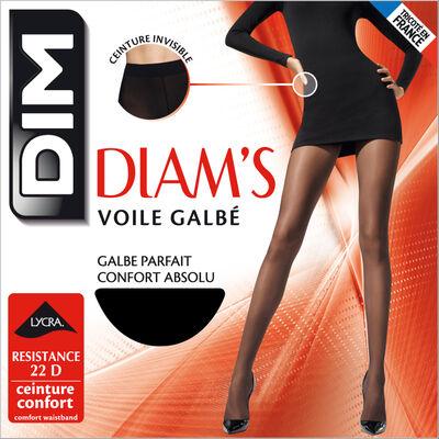 Panti negro Diam's velo moldeado 22D, , DIM