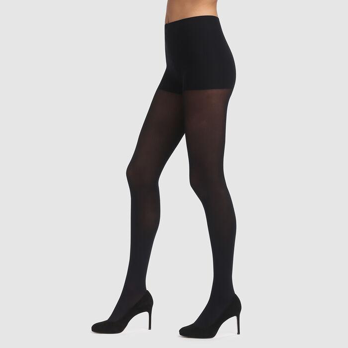 Panti Edendim negro sin cintura opaco 40D, , DIM