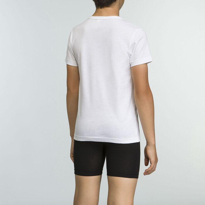 Camiseta blanca niño 100% algodón Basico Sport , , DIM