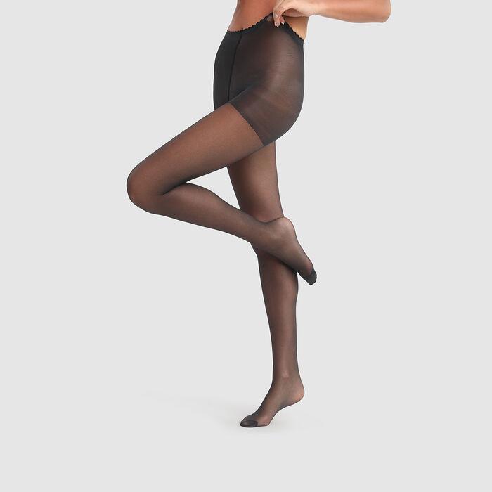 Panti velo transparente negro Body Touch Dim 17D, , DIM