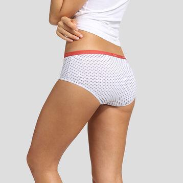 Pack de 3 culottes estampado provenzal Les Pockets Coton Stretch Dim, , DIM