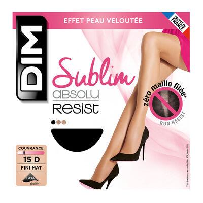 Panti negro Sublim Absolu® Resist 15D, , DIM