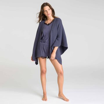 Poncho gris Cocooning-DIM