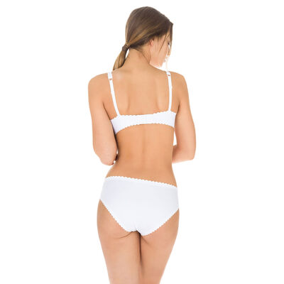 Braguita blanca Body Touch segunda piel para mujer, , DIM