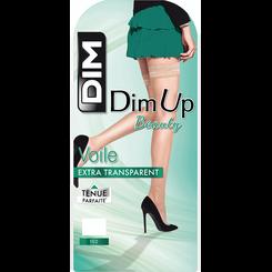 DIM Up Voile noir Jarretière liberté 15D-DIM
