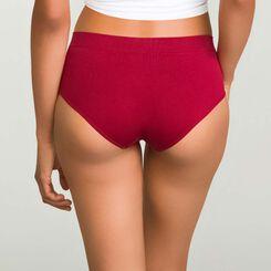 Pack de 2 culottes de microfibra violeta y rojo cherry Ecodim , , DIM