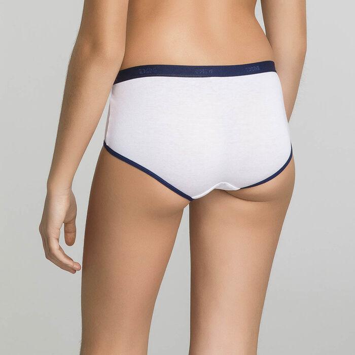 Pack de 3 culottes niña de algodón fantasía - Pocket Stripes, , DIM