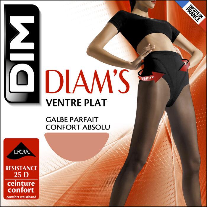 Panti piel dorada Diam's vientre plano 25D, , DIM